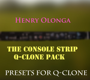 NEW!!!!!!!The Console strip Q-clone Pack